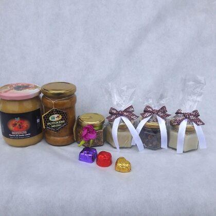 Bišu maize un dzērvene šokolādē