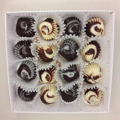 Šokolādes Gliemezīši 4EUR