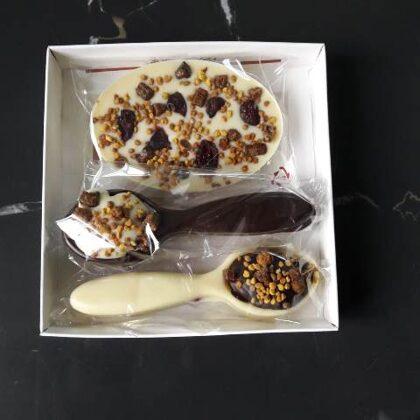 Šokolādes komplekts 4 EUR