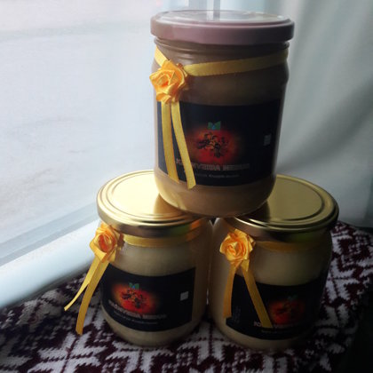Honey jars 0.5l