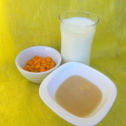 Smiltsērkšķu dzeramais jogurts