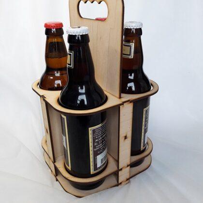 Alus pudeļu turētājs